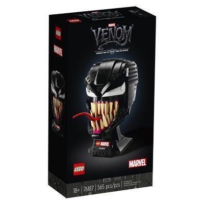Lego casco de venom
