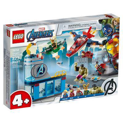 Lego lego 76152 vengadores ira de loki