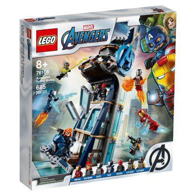 Lego lego 76166 batalla en la torre de los vengadores
