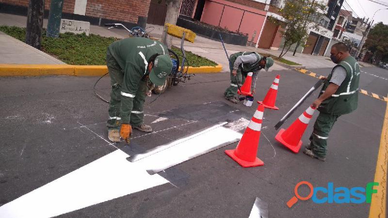 Maestro pintor 910483816 con experiencia pintores en sañalización de pistas