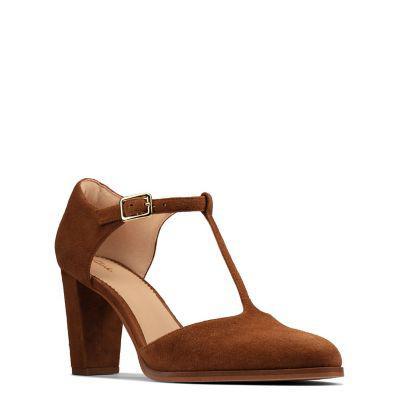 Clarks zapatos de vestir mujer clarks kaylin85 tbar2 tan