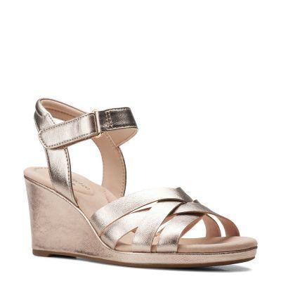 Clarks zapatos de vestir mujer clarks lafley leah metallic