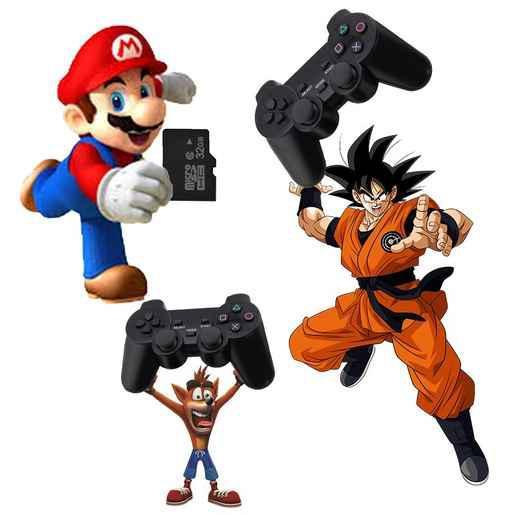 Compra online 1000 juegos de super nintendo + 44 juegos ps1