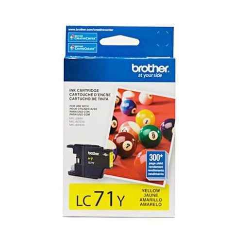 Compra online tinta brother lc-71y yellow j430w/j825dw