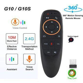 Control remoto por voz para android tv box pc 2,4g