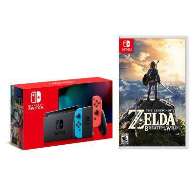 Nintendo consola nintendo switch 1.1 neon + juego switch