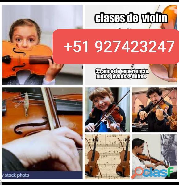 Violin clases sistema aleman
