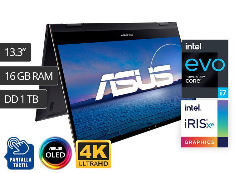 """ASUS LAPTOP ZENBOOK FLIP S UX371EA 13.3"""" CORE I7 1TB 16GB"""