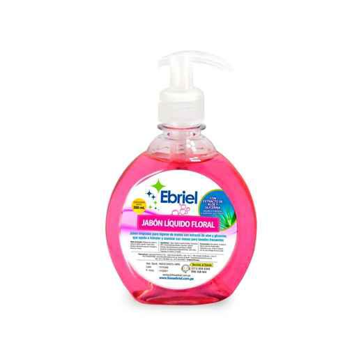 Compra online jabon liquido floral ebriel frasco x 380ml
