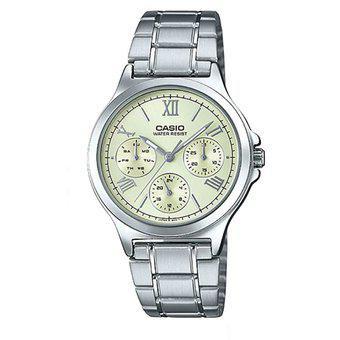 Reloj Casio LTP-V300D-9A1 para Mujer - Plata.