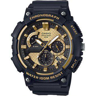 Reloj Casio MCW-200H-9AV Analógico Hombre - Negro y Dorado