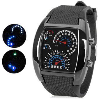 Reloj de Mano Led Generico re0059 negro