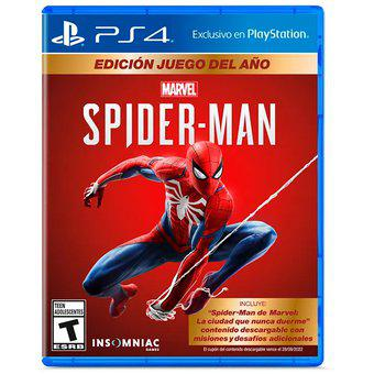 Spiderman Game of The Year Edition - Juego Ps4