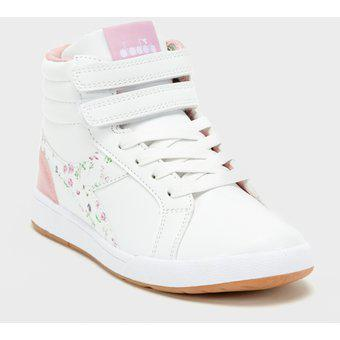 Zapatillas Urbanas Niña Diadora Girl High4 Bl-Blanco