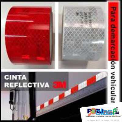 Cinta Reflectiva Rojo Y Blanco 3m original Grado diamante