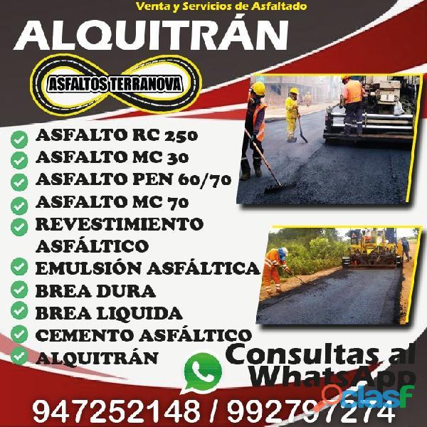 Emulsion asfaltica rc 250 alquitran liquida
