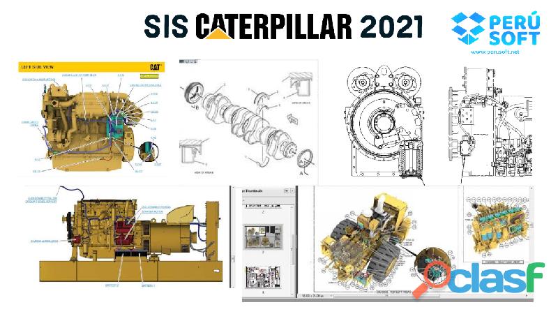 SIS CATERPILLAR 2021 3D + CBT + SERVICE REPORT + STW