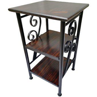 Mesa de sala mesa auxiliar cuadrada pequeña