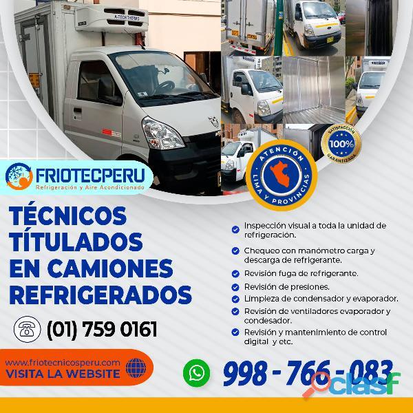 TÉCNICOS TITULADOS EN CAMIONES REFRIGERADOS