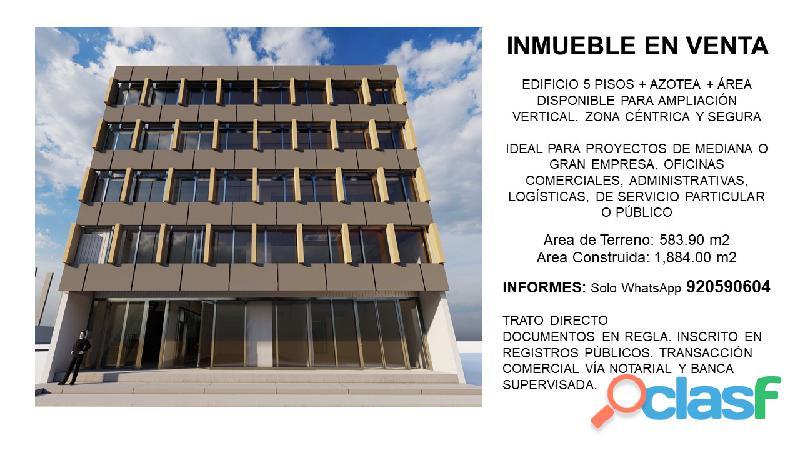 Edificio en venta Centro Piura