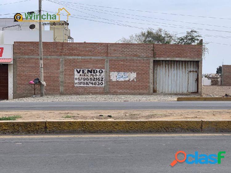 VENTA DE TERRENO- AUTOPISTA CHICLAYO-PIMENTEL