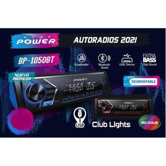 Autoradio boss power bt-1050bt bluetooth smart usb