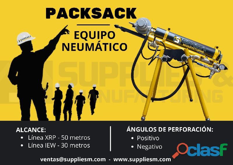 EQUIPO DE PERFORACIÓN DIAMANTINA PACKSACK