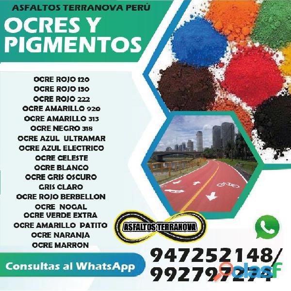 OCRES Y PIGMENTOS BAYER IMPORTADOS