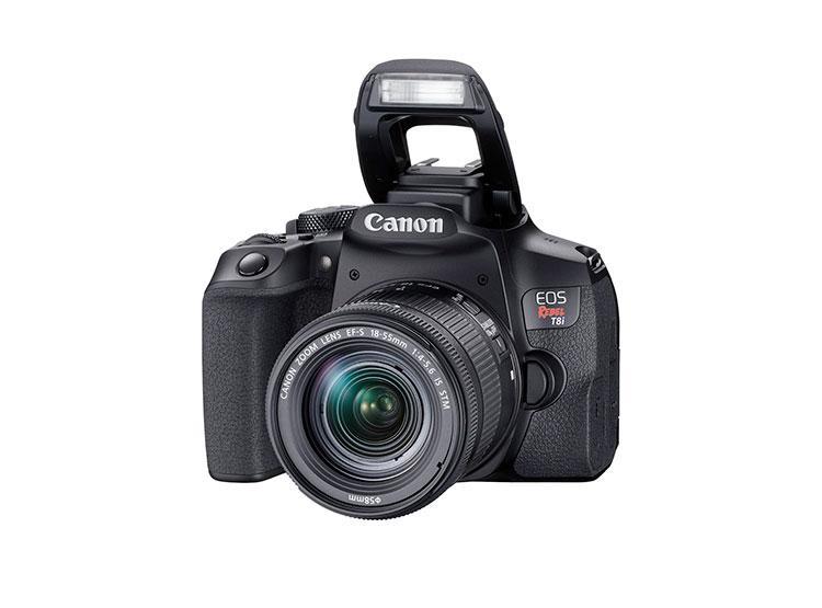 Canon cámara eos rebel t8i 24.1mp