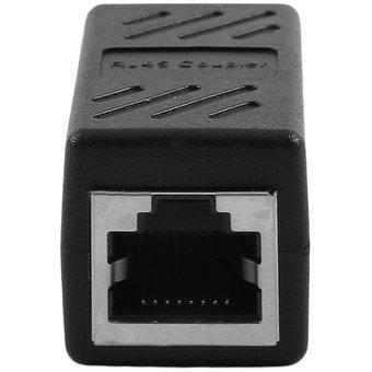 Conexión a internet lan de red rj45 adaptador de conector