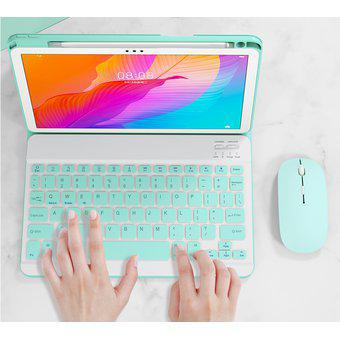 Funda con teclado retroiluminado de 10.4 pulgadas para
