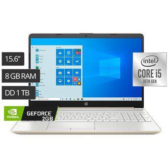 Hp laptop 15-dw1061la 15.6 intel core i5 1tb 8gb 2gb mx130