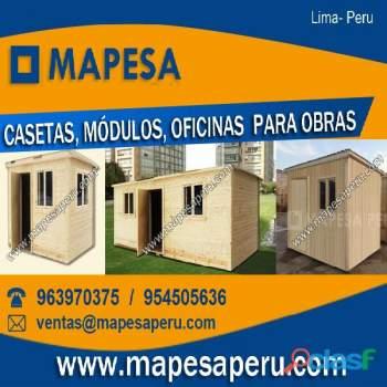 Cuartos Habitaciones Prefabricados De Madera Precios Lima
