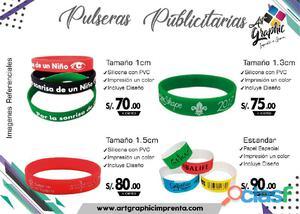 6c9b381941fb Pulseras de publicidad en Perú   ANUNCIOS Junio