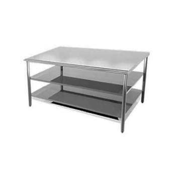 Mesas de acero inoxidable para cocina, clínica, panaderia en ...